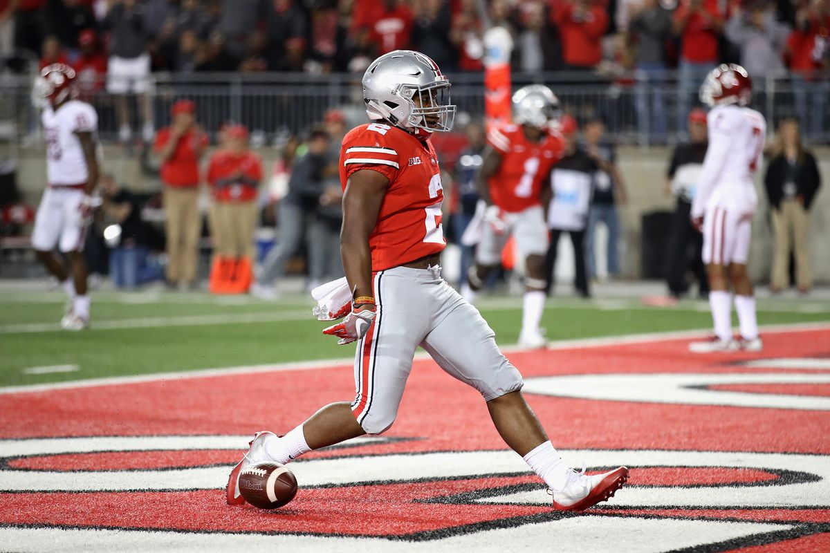 Ohio States JK Dobbins should pace the Buckeye offense against 1200x800
