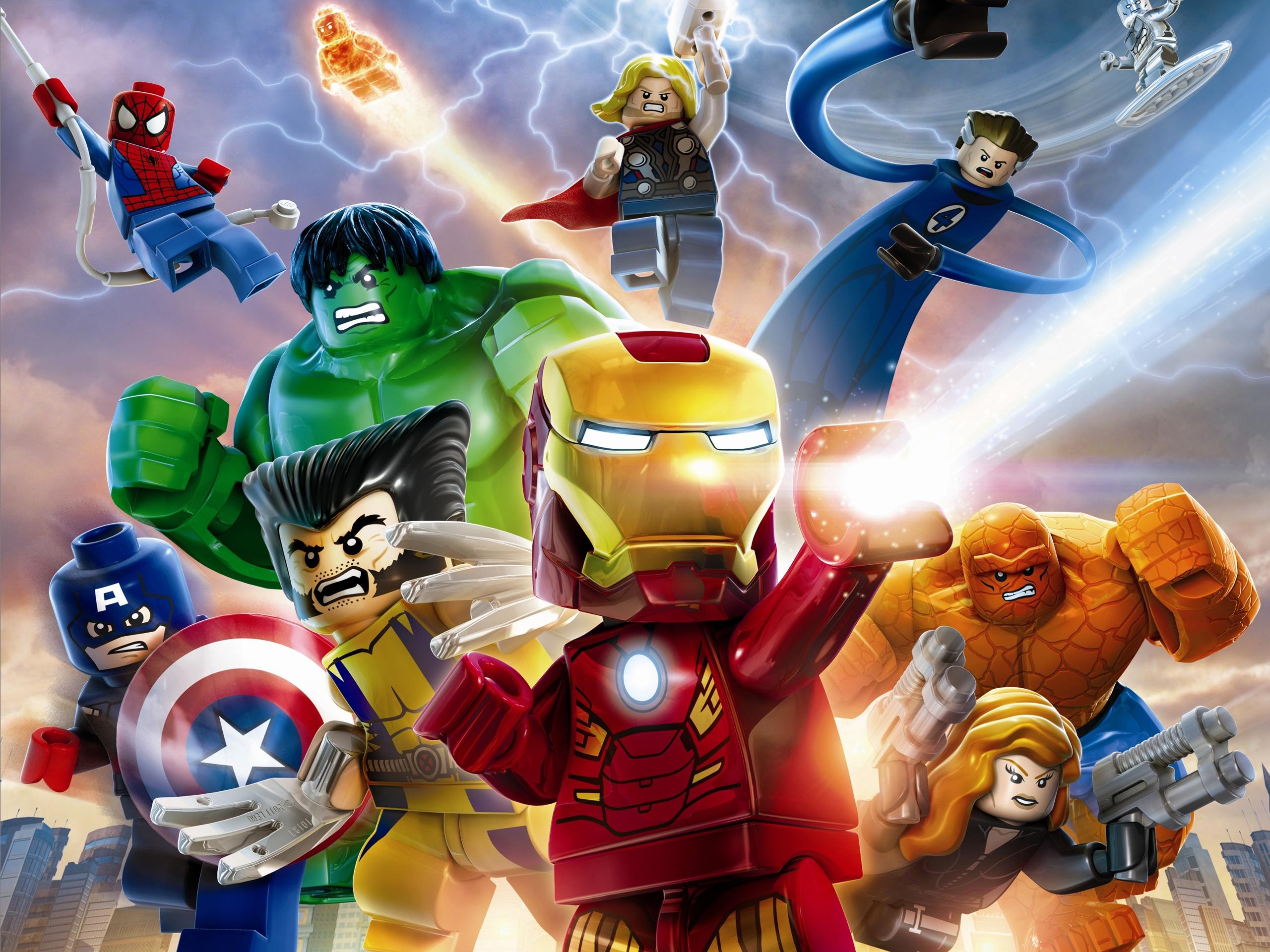 Lego Marvel Super Heroes Wallpapers Desktop Wallpaper Wallpapers 2560x1920