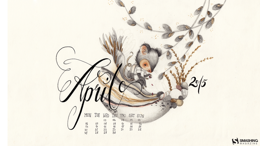 Desktop Wallpaper Calendars April 2015 Smashing Magazine 1000x562