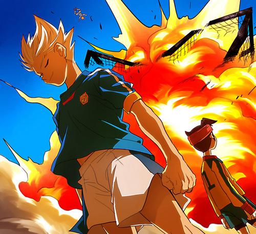 Shya GenjiAxel Blaze images Gouenji Shuuya 2 wallpaper 500x458