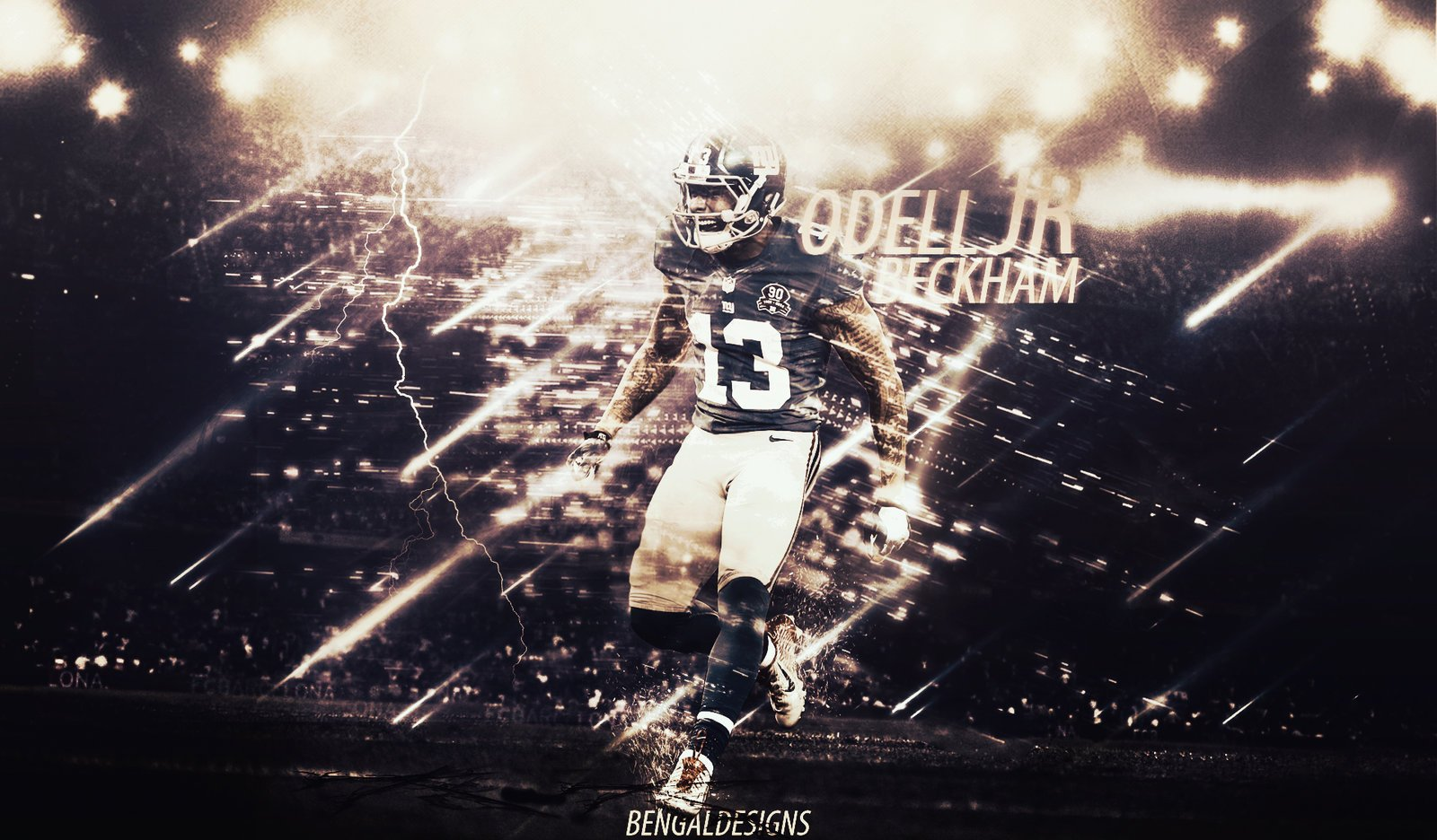 Odell Beckham Jr Wallpaper by BengalDesigns by bengalbro 1600x936