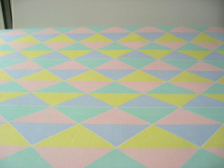 80s Wallpaper Patterns 80s harlekin pastel wallpaper 736x552