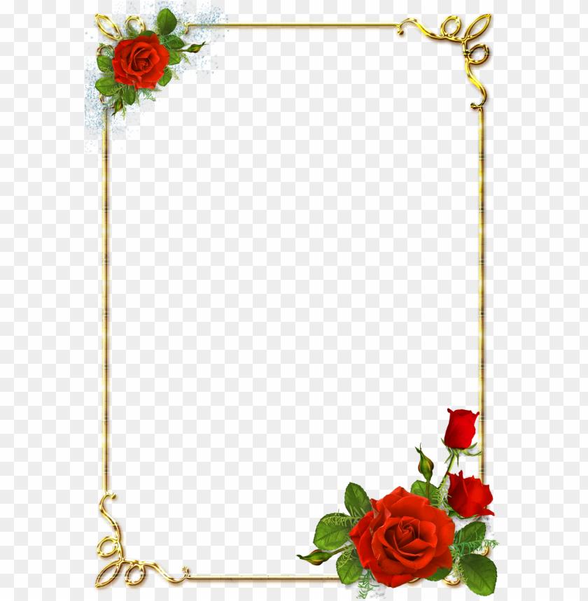 age borders design border design frames png overlays   flower 840x859