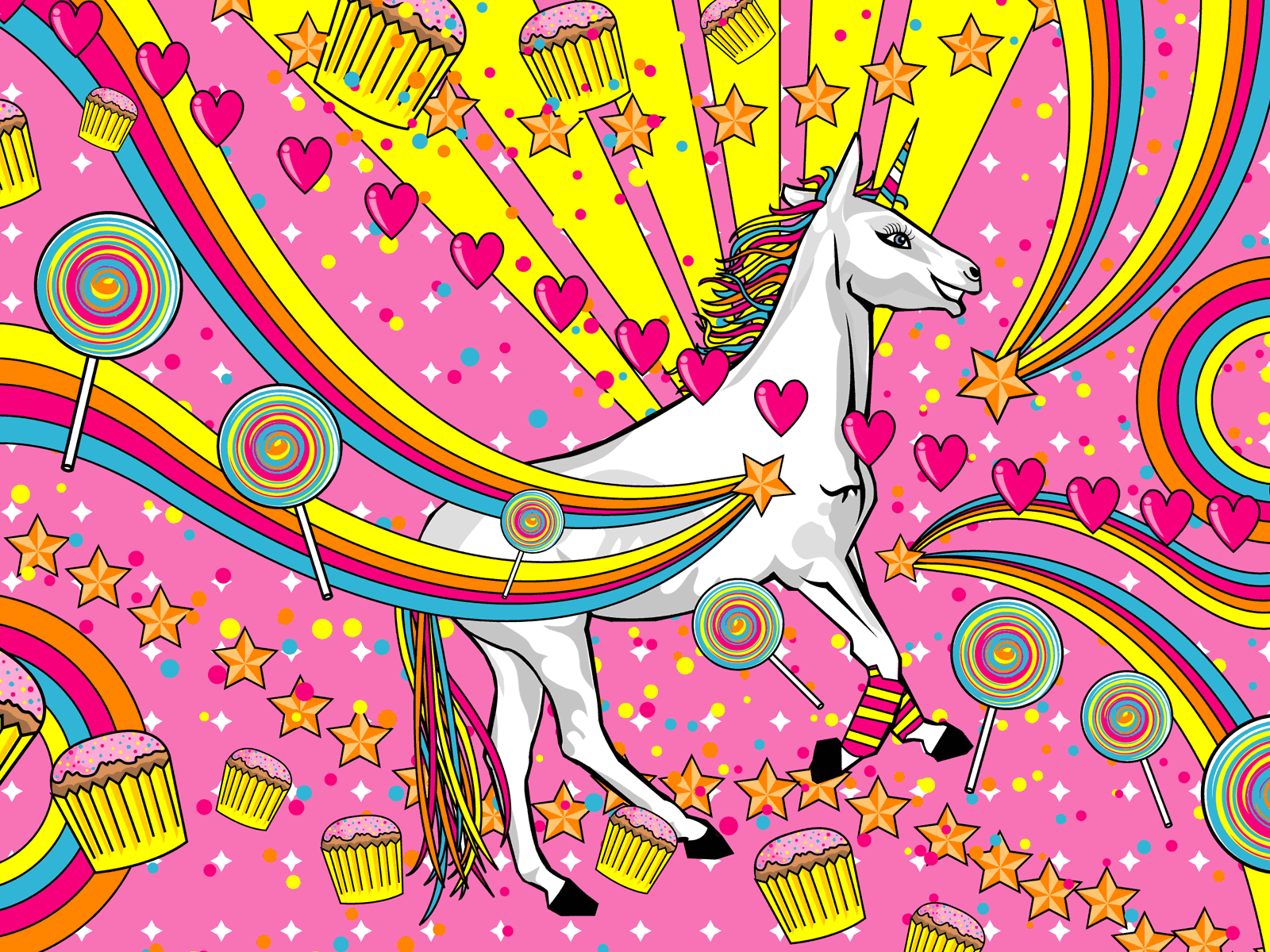 Unicorn Wallpaper 1600x1200 Unicorn 1600x1200