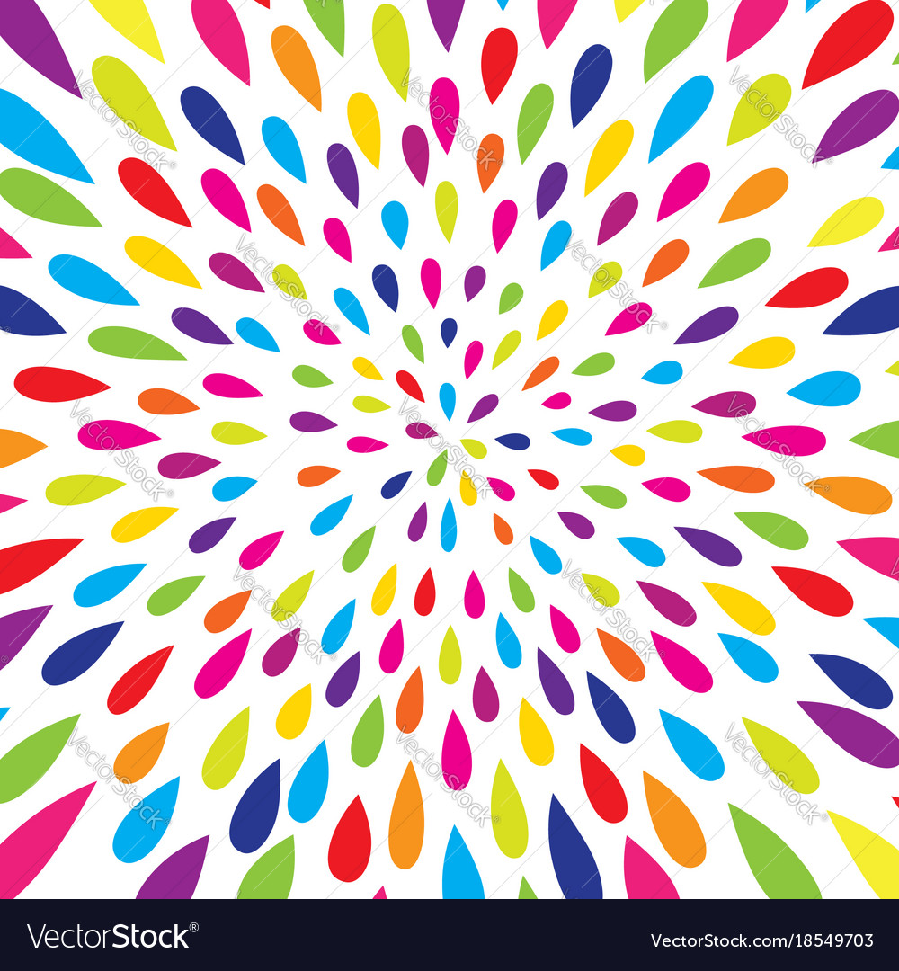 Abstract droplet pattern firework spot background Vector Image 1000x1080