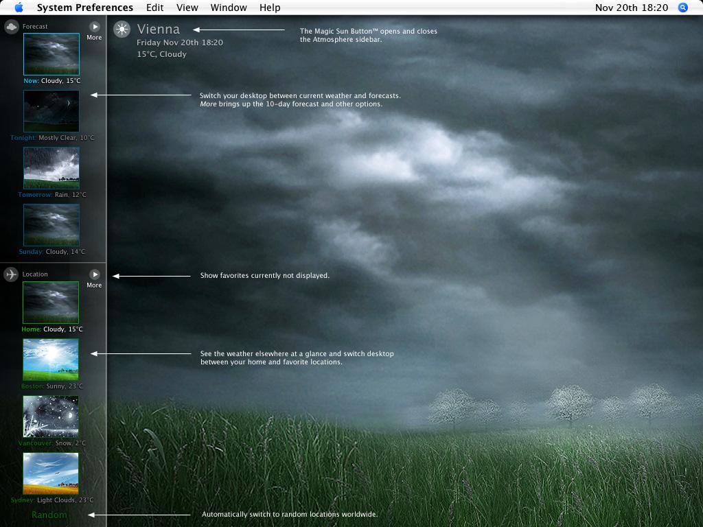 desktop radar weather wallpaper