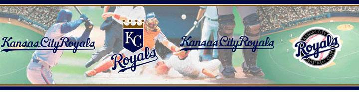 MLB Baseball Home DecorKansas City Royals Wall Border 5815401 720x186