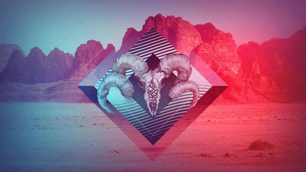 artwork gradient indie Desert Wallpapers Desktop Wallpapers 600x337