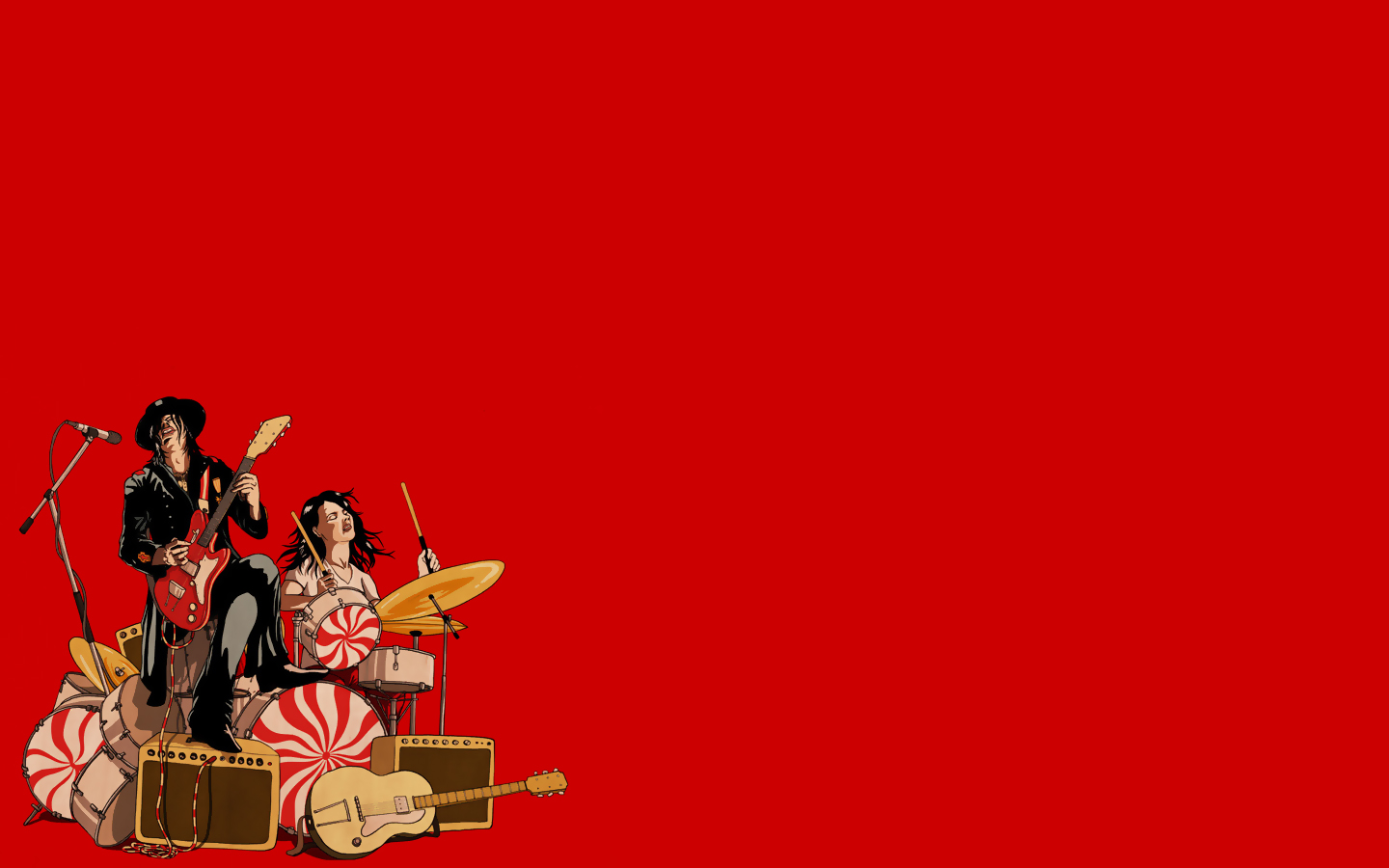 The White Stripes   The White Stripes Wallpaper 27518794 1440x900