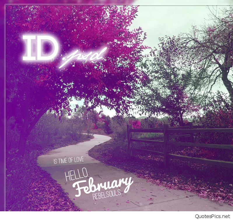 Funny Cute Hello February Images quotes and wallpapers 799x755
