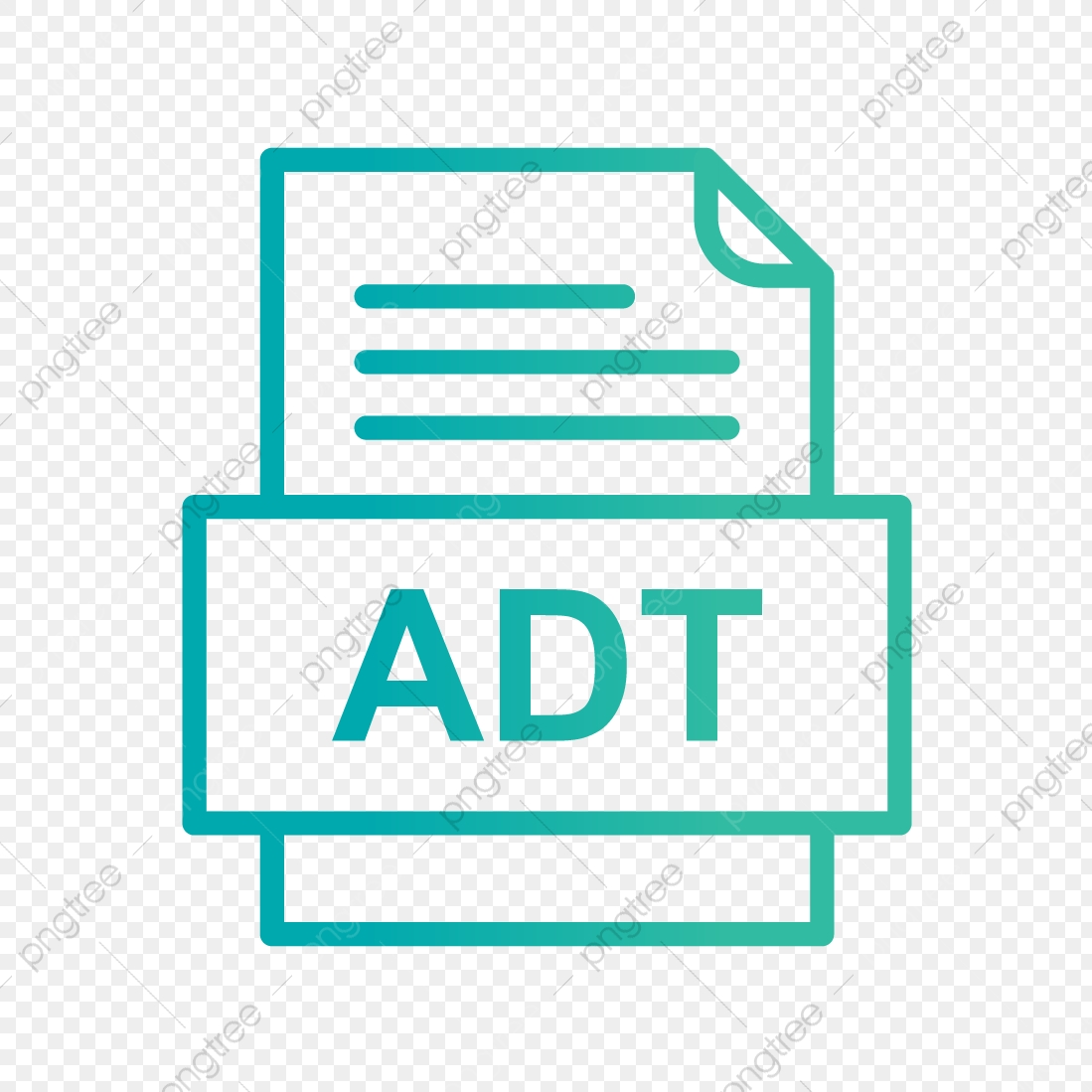 Adt File Document Icon Adt Document File PNG and Vector with 1099x1099