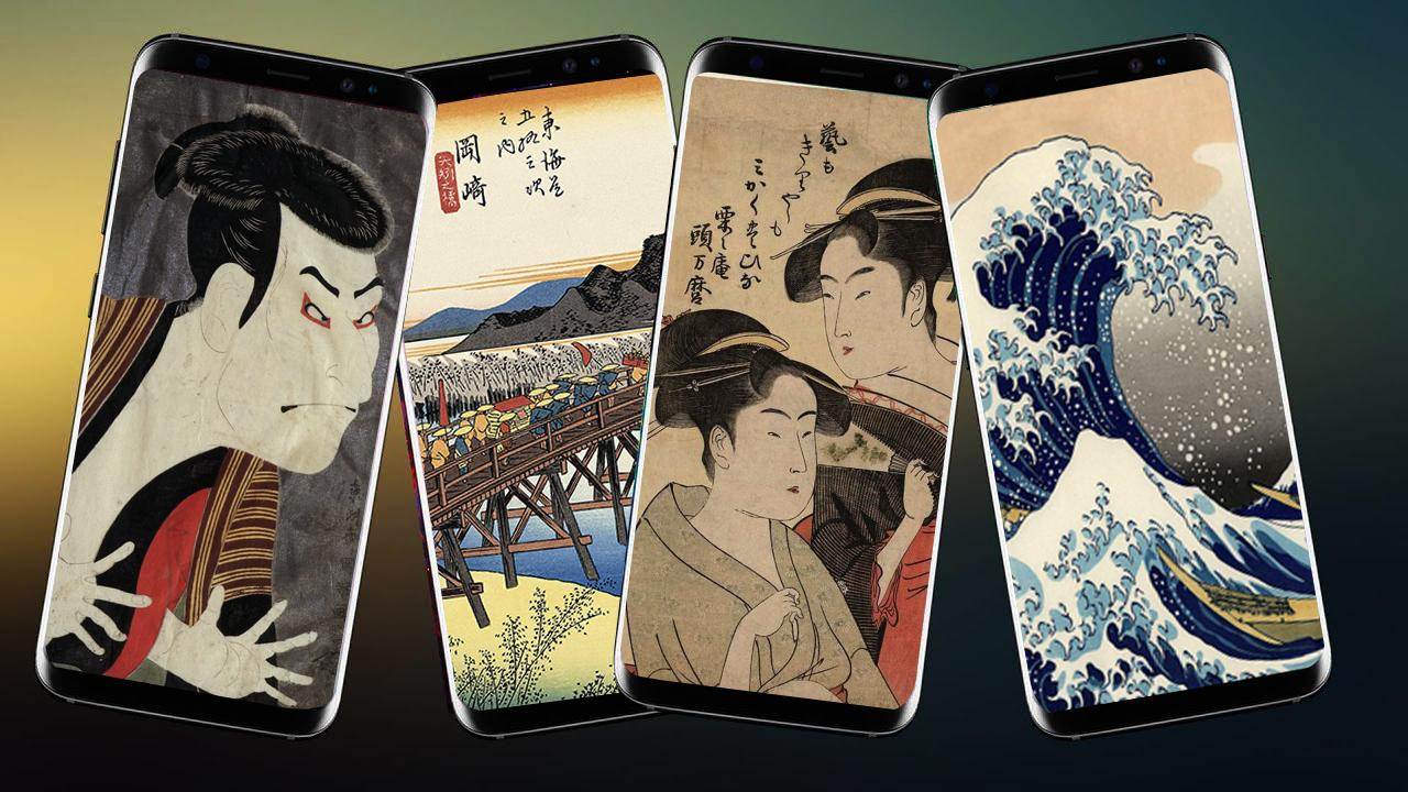Japanese Wallpaper Ukiyo E for Android   APK Download 1280x720