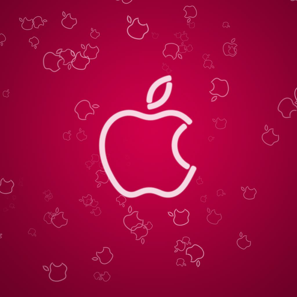 Apple Logo ipad Wallpaper Maceme Wallpaper 1024x1024