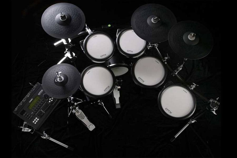 Yamaha DTX400K Customizable Electronic Drum Set DrummingPalacecom 900x600