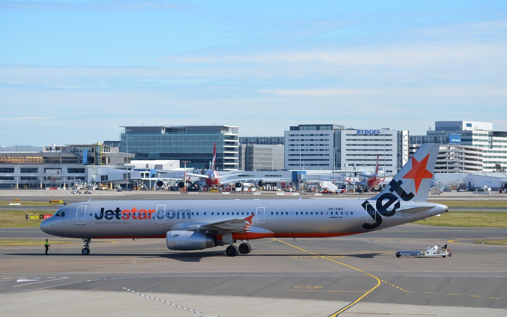 VH VWX Airbus A321 232 Jetstar At Sydney Airport HD Wallpaper 1920x1200