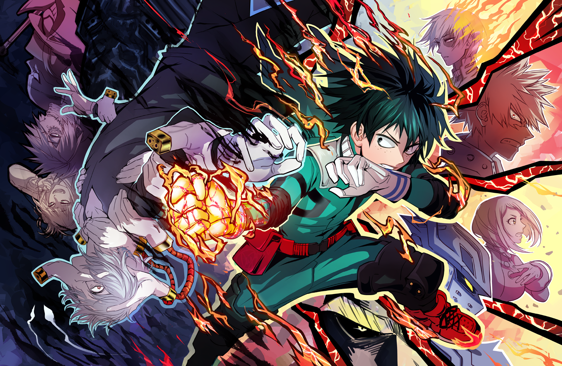 242 Boku no Hero Academia HD Wallpapers Background Images 1920x1252
