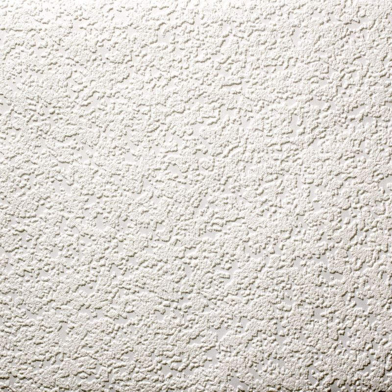 Chunky Paintable Wallpaper in White with a Vinyl finish by Superfresco 800x800