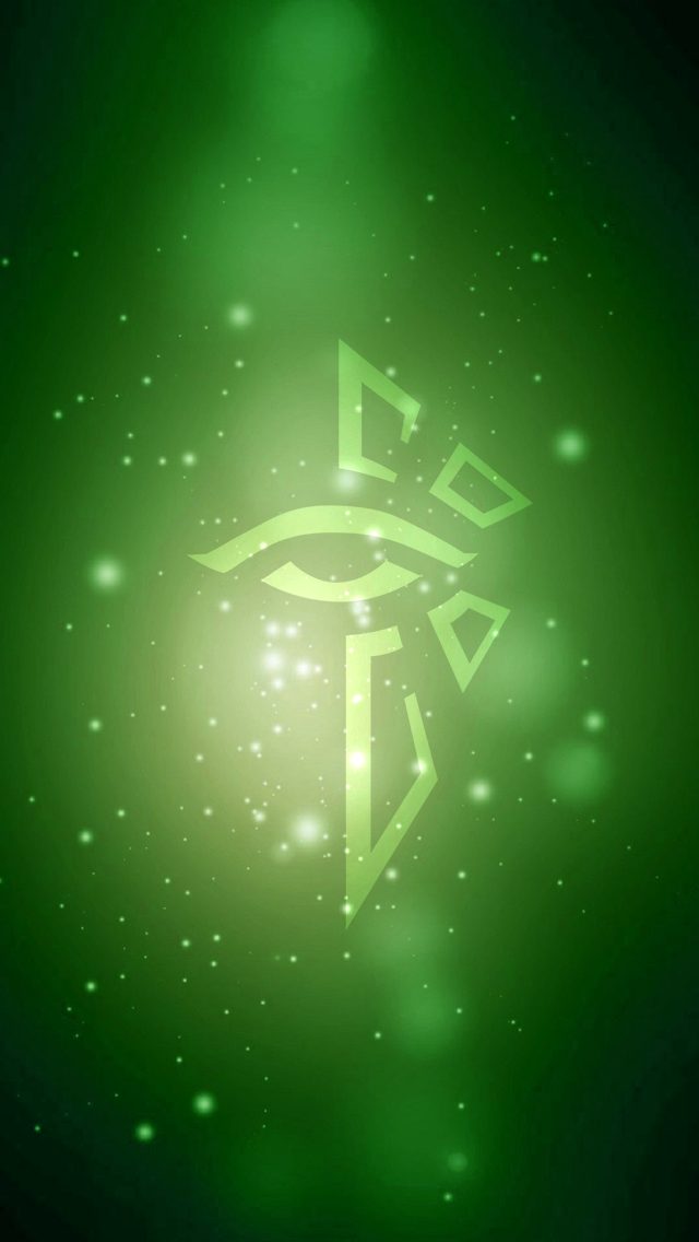 Ingress Enlightened Wallpaper Ingress Art Ingress enlightened 640x1136