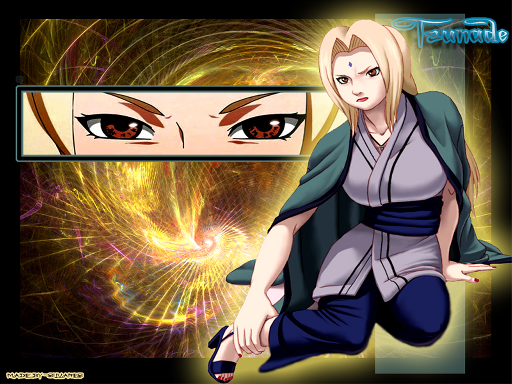 Lady Tsunade Wallpaper 1024x768