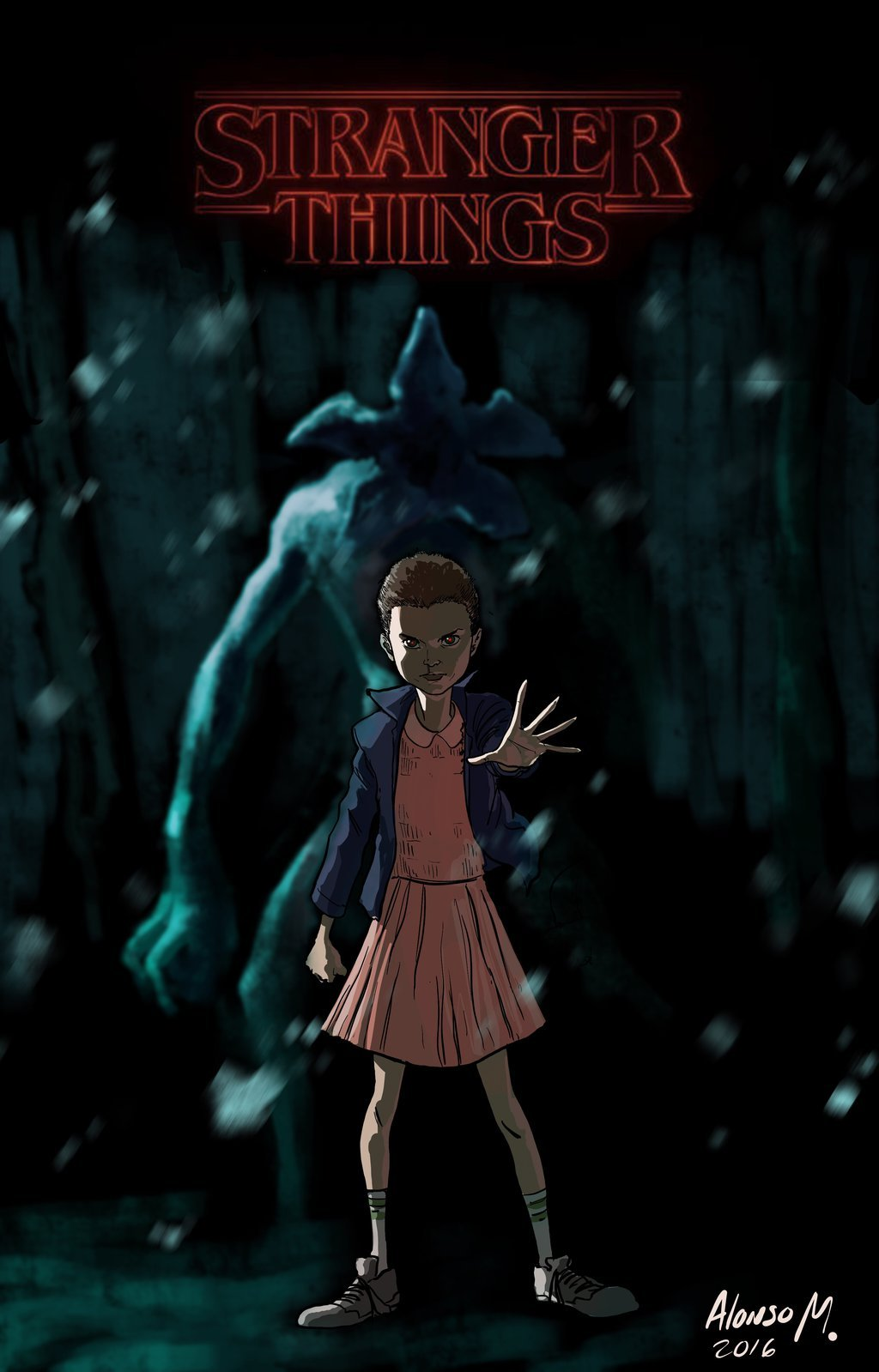 Free Download Stranger Things Eleven By Alonsomolina1985