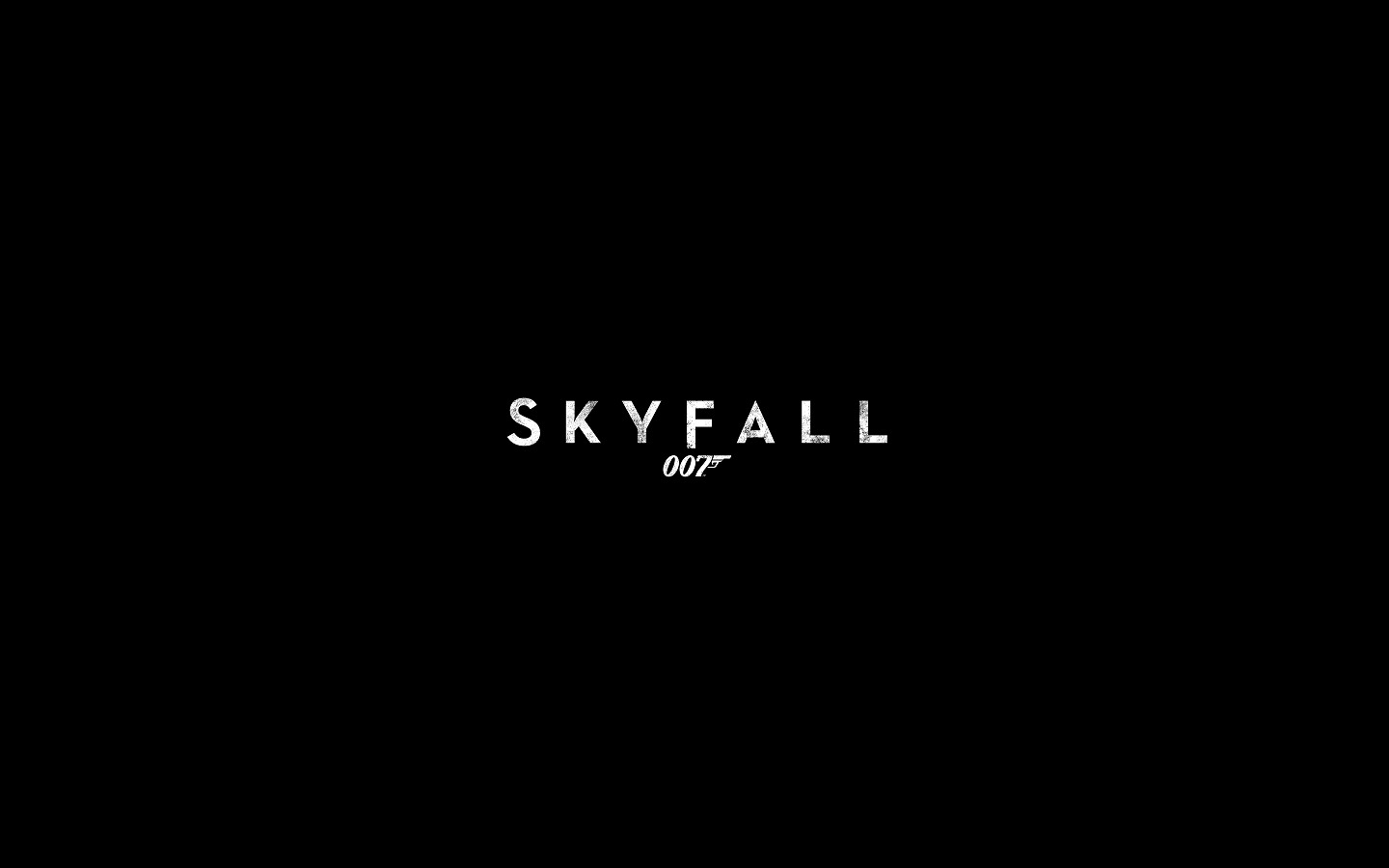 Skyfall 007 Movie Poster HD Wallpapers HD Wallpapers Backgrounds 1440x900