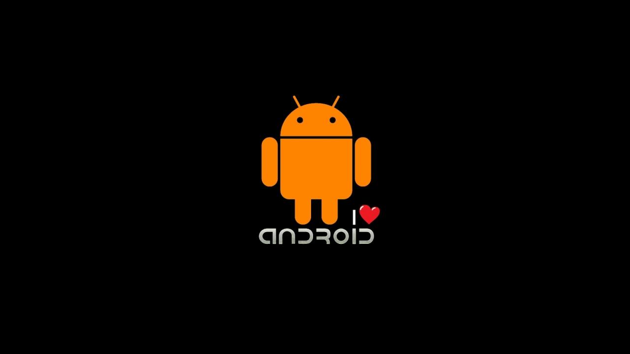 Free Download Love Android Logo Desktop Wallpaper Download