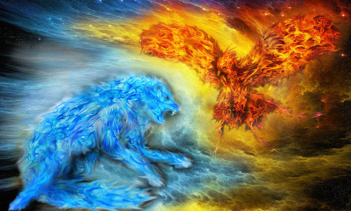 Wolf Of Fire Fire and Ice Wo...