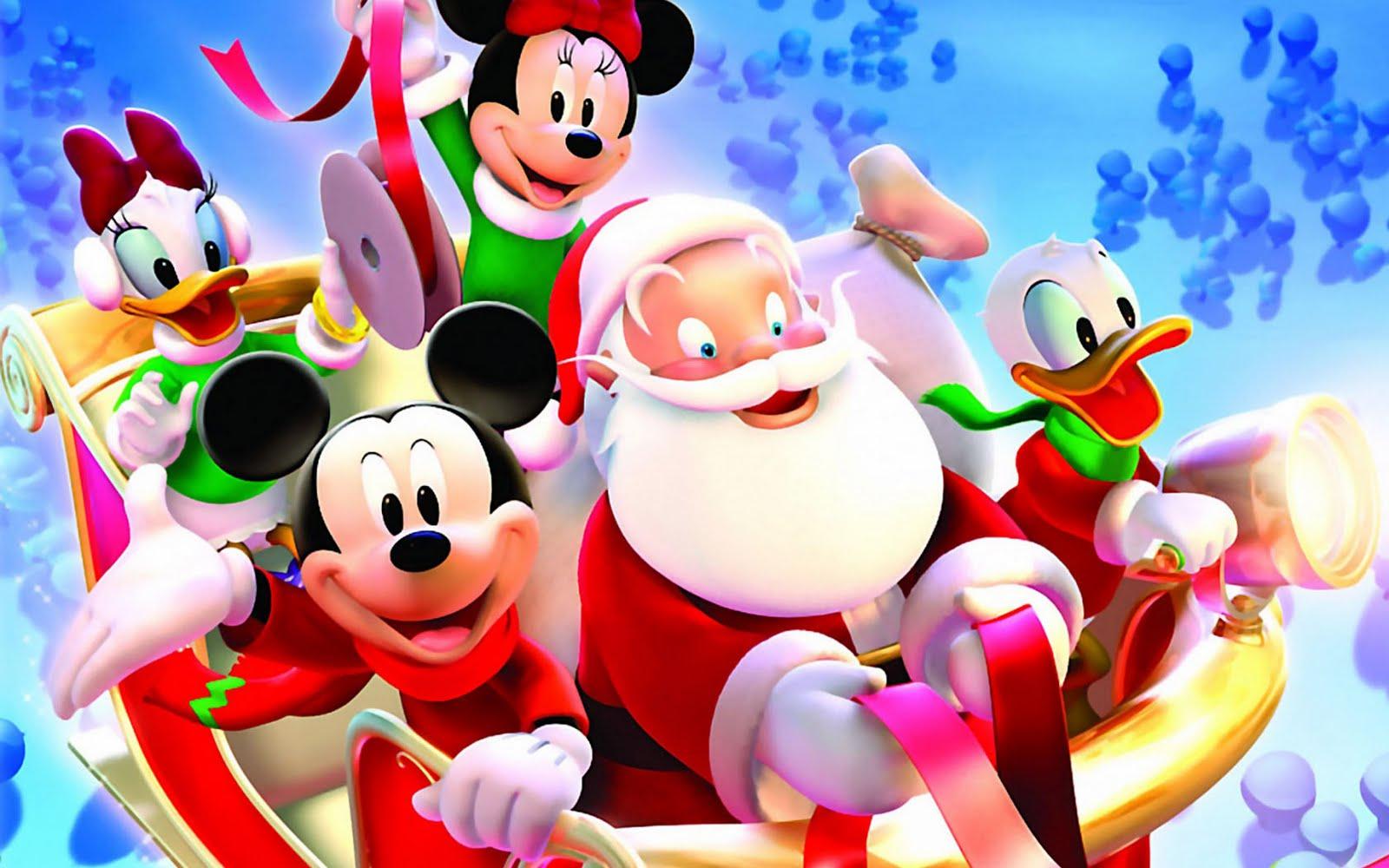 Kid at Christmas 5 adorable Disney Christmas wallpapers for your 1600x1000