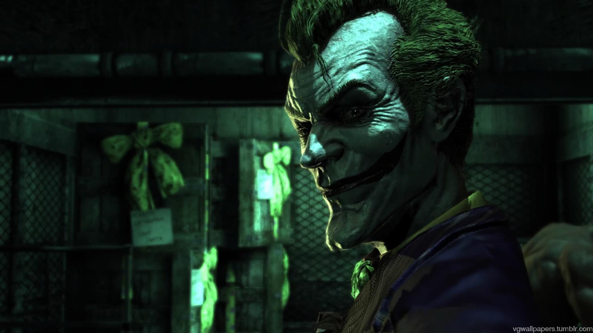 Joker Arkham Asylum Wallpaper Dc el wallpape 1920x1080