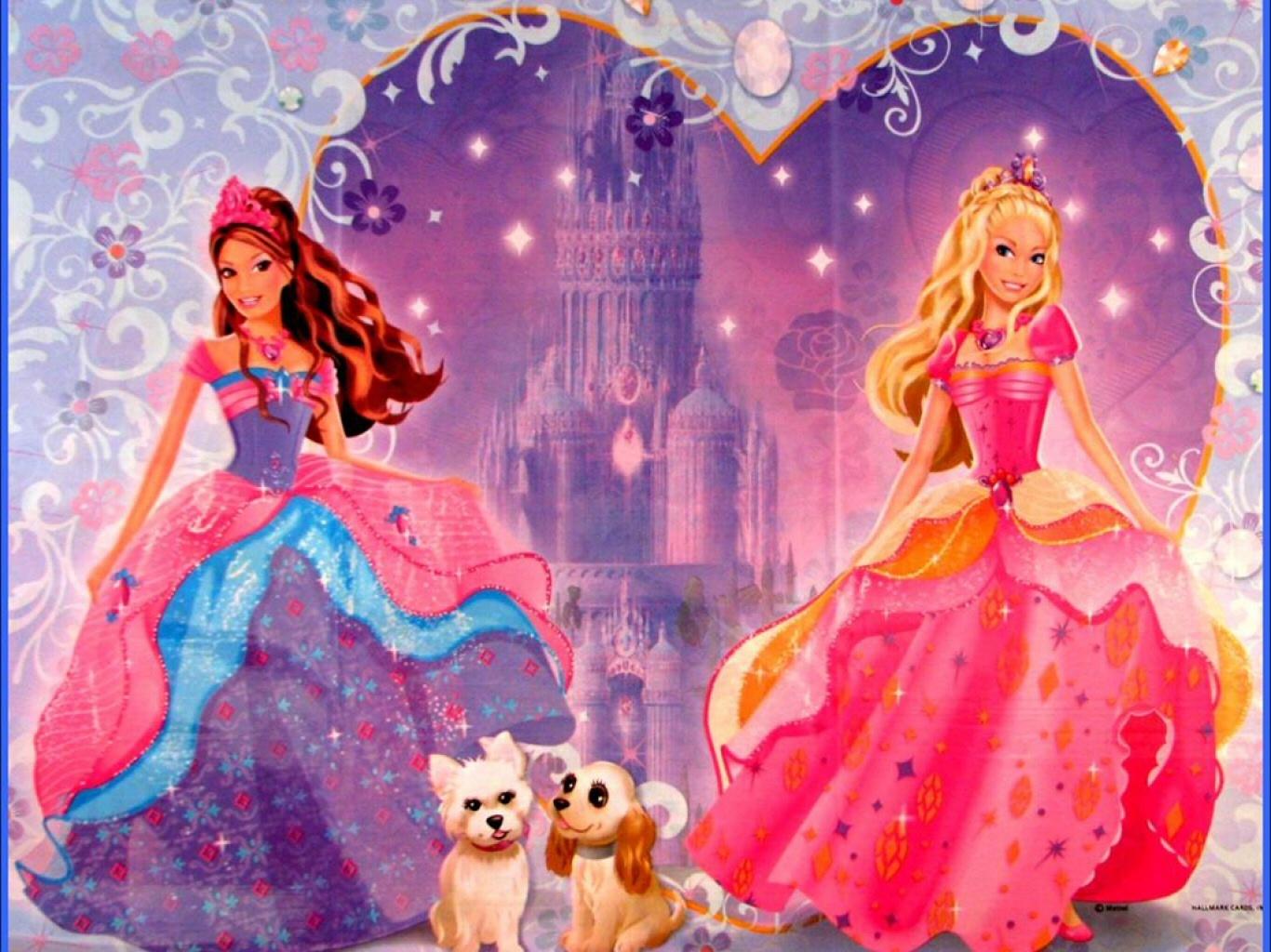 Barbie Wallpaper   HD 1 1366x1024