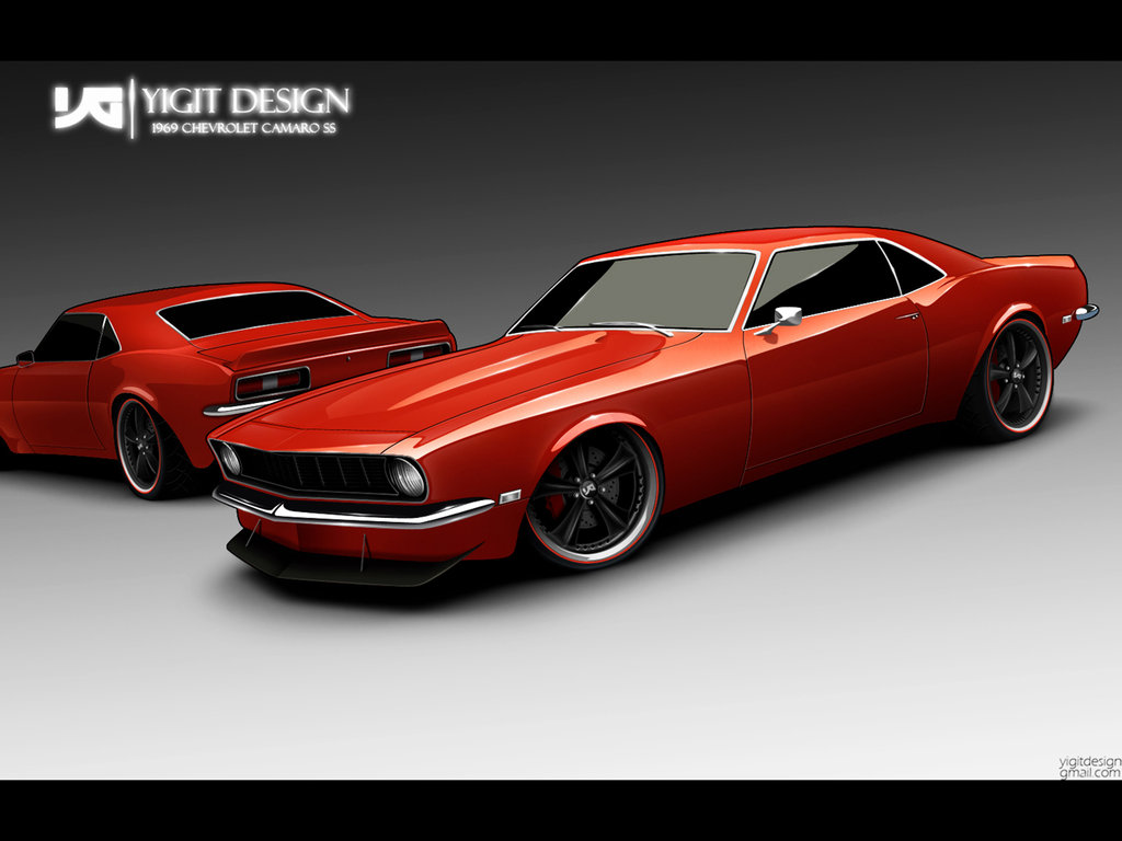 69 Camaro SS by ygt design 1024x768