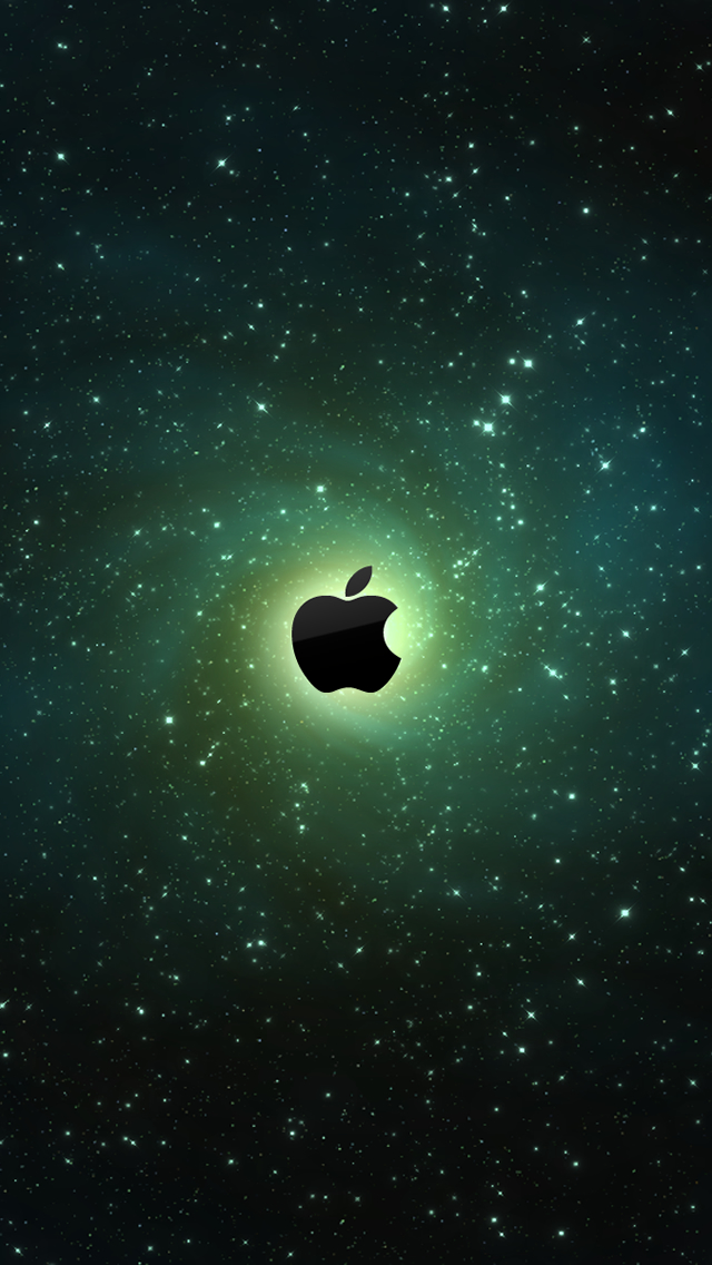 Galaxy Apple Logo iPhone 5s Wallpaper Download iPhone Wallpapers 640x1136