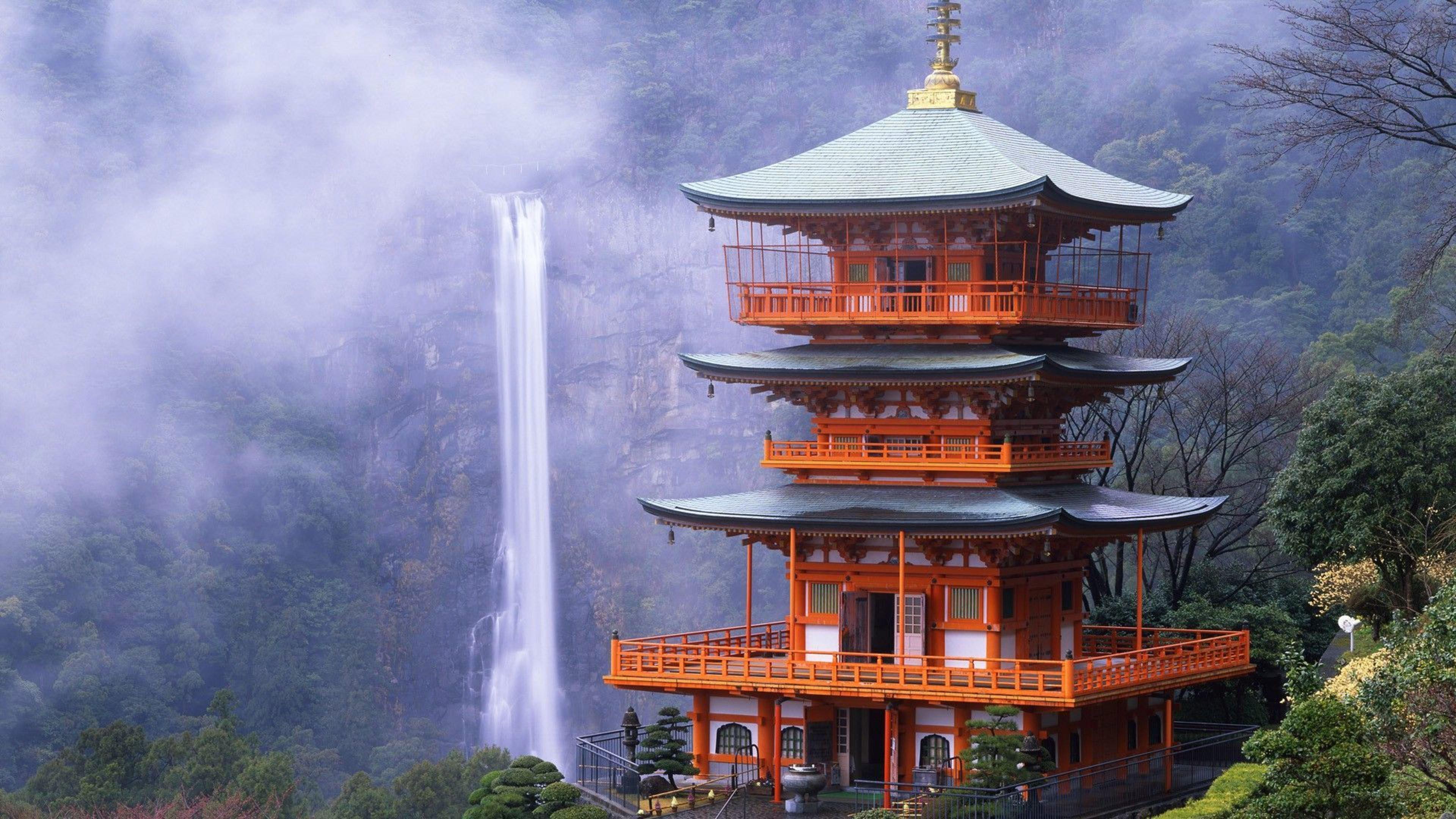 Hd wallpaper japan - Seiganto Ji Temple In Japan 4k Wallpaper
