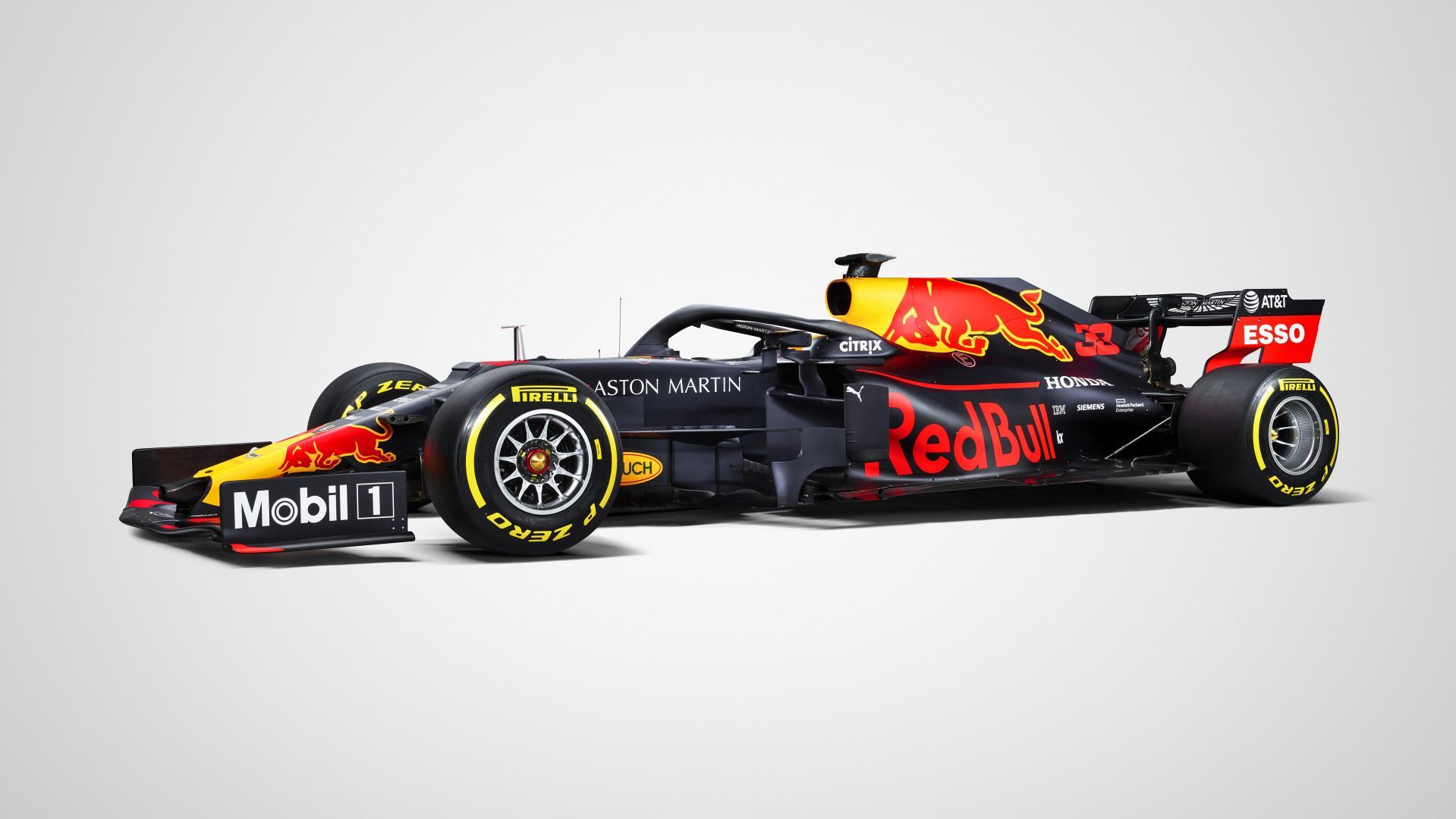 Red Bull RB15 in zijn officile kleuren   TopGear Nederland 1919x1080