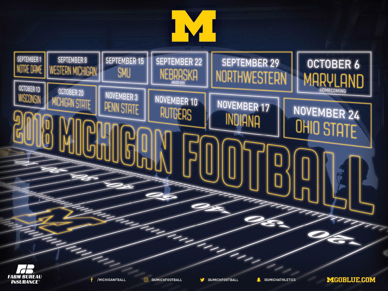 Michigan Athletics Sport Posters   University of Michigan Athletics 1440x1080