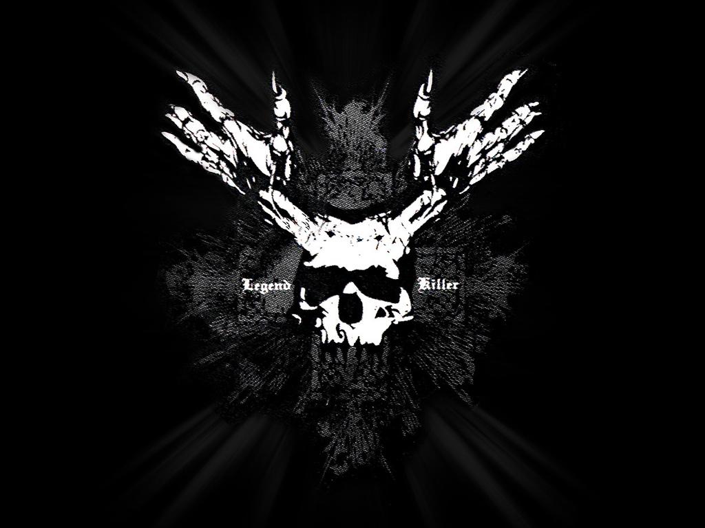 Scary Skeleton Wallpaper - WallpaperSafari