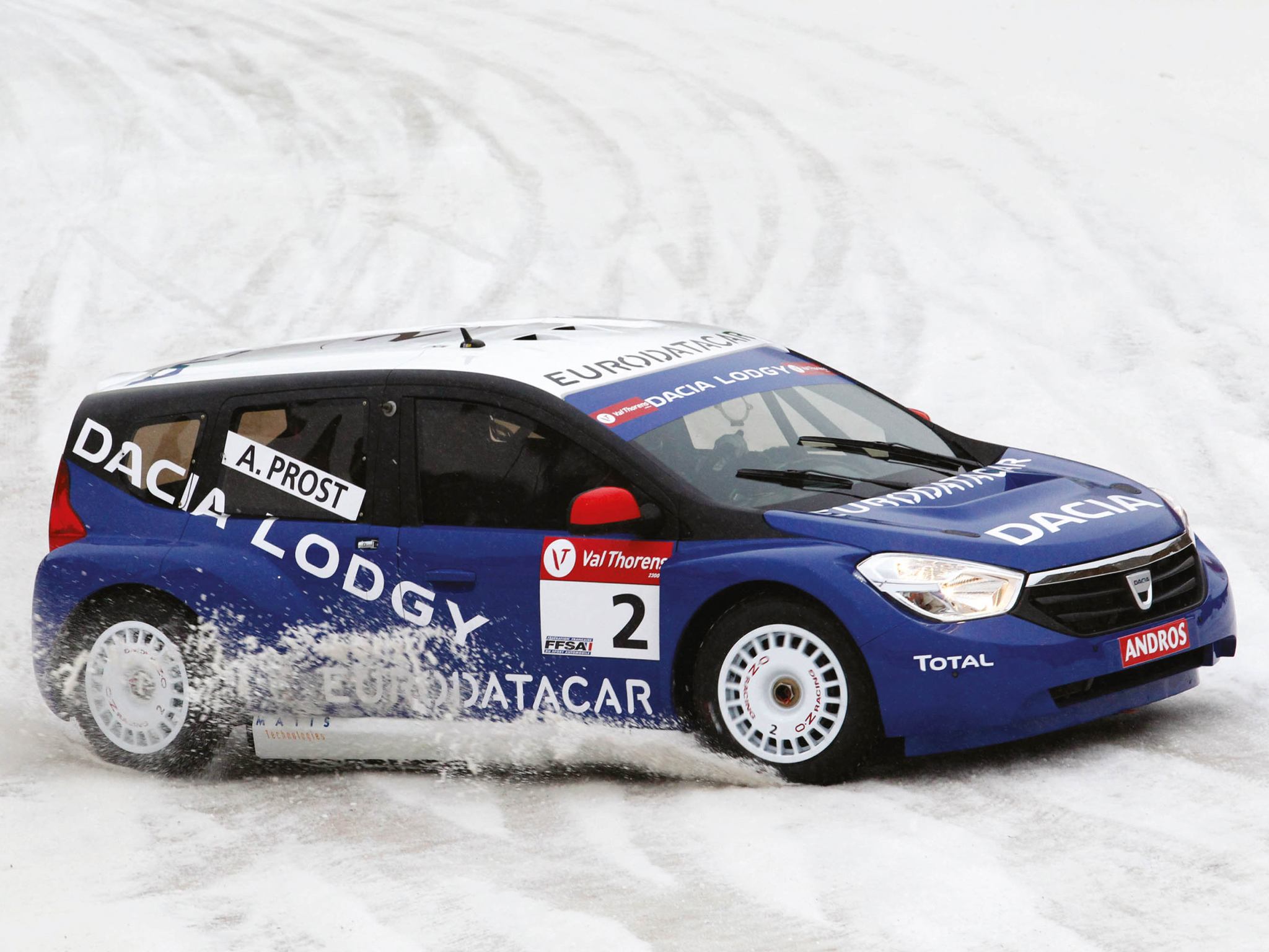 Andros Trophy Racing Dacia Lodgy Glace Trophe Andros 2011 HD 2048x1536