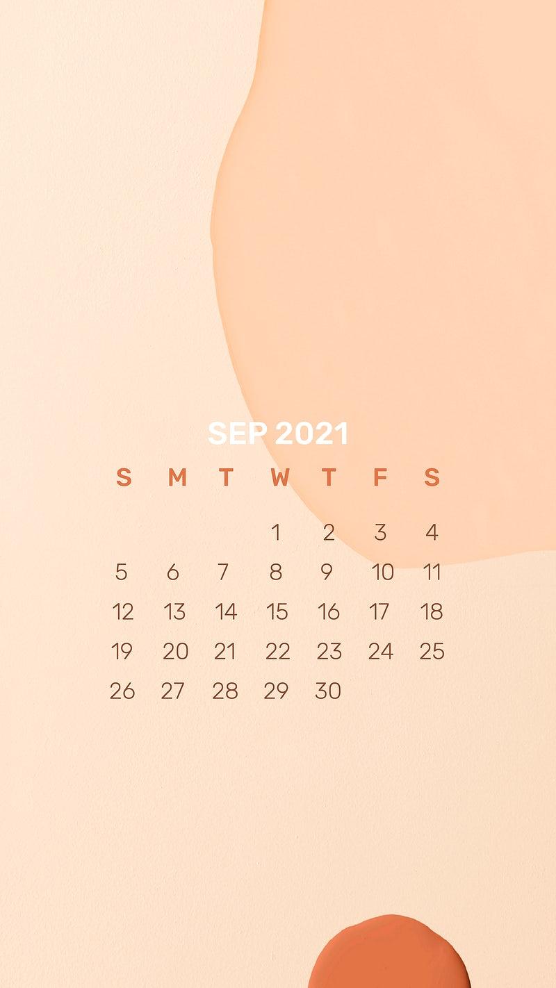 September 2021 Calendar Wallpaper Images Photos PNG 800x1422