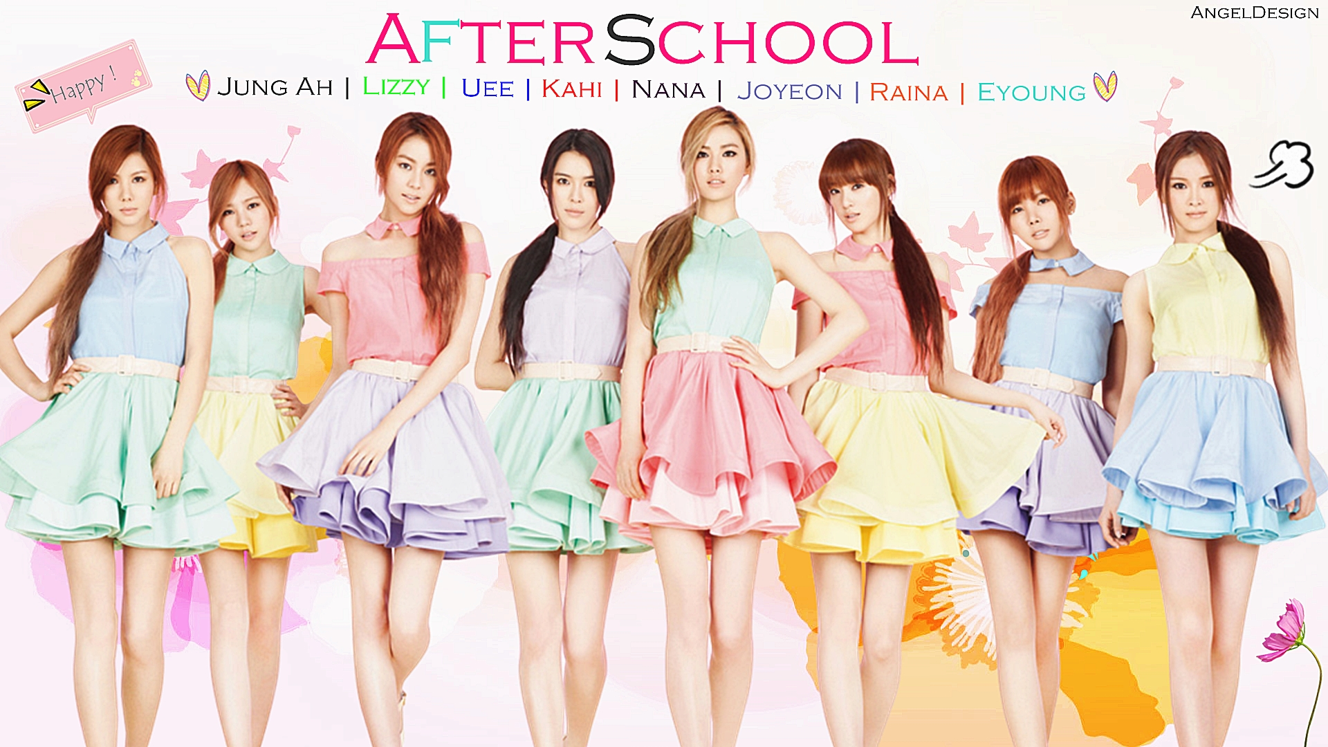 After School Profile   KPop Music 1920x1080