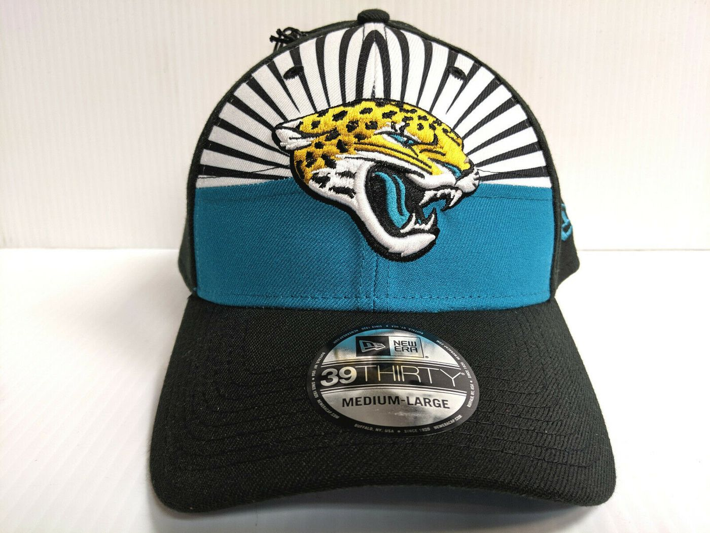 Jacksonville Jaguars Cap New Era 39Thirty Stretch 2019 On Stage 1400x1050