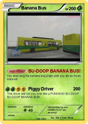 Vanossgaming Banana Bus Pokemon banana bus 373x521