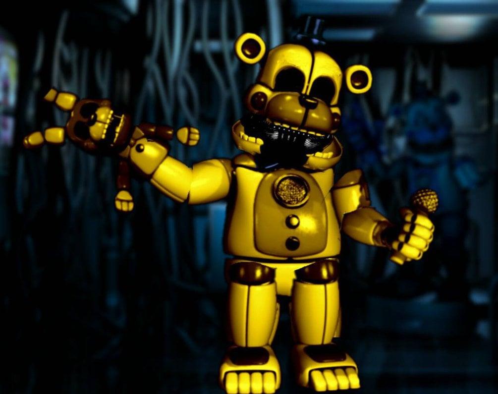 funtime Golden Freddy by BenTheHybrid1 1005x795