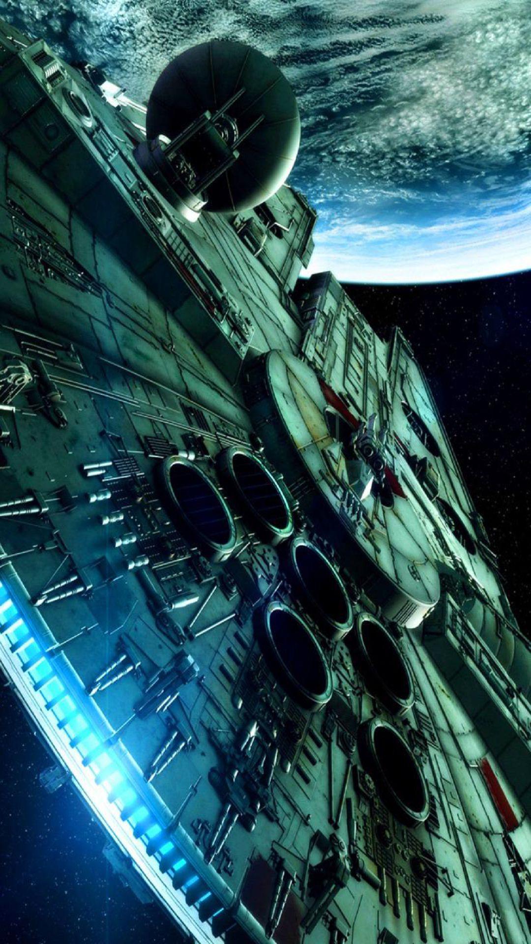 Star Wars Spaceship Science Fiction iPhone 6 Plus HD Wallpaper 1080x1920