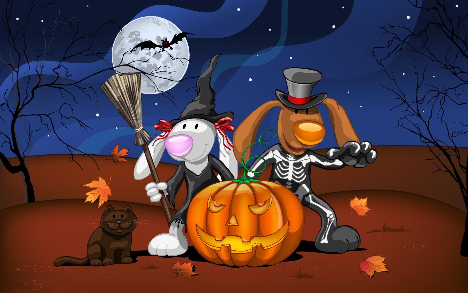 Widescreen HD Wallpaper Holiday Disney Halloween hd wallpaper 1920x1200