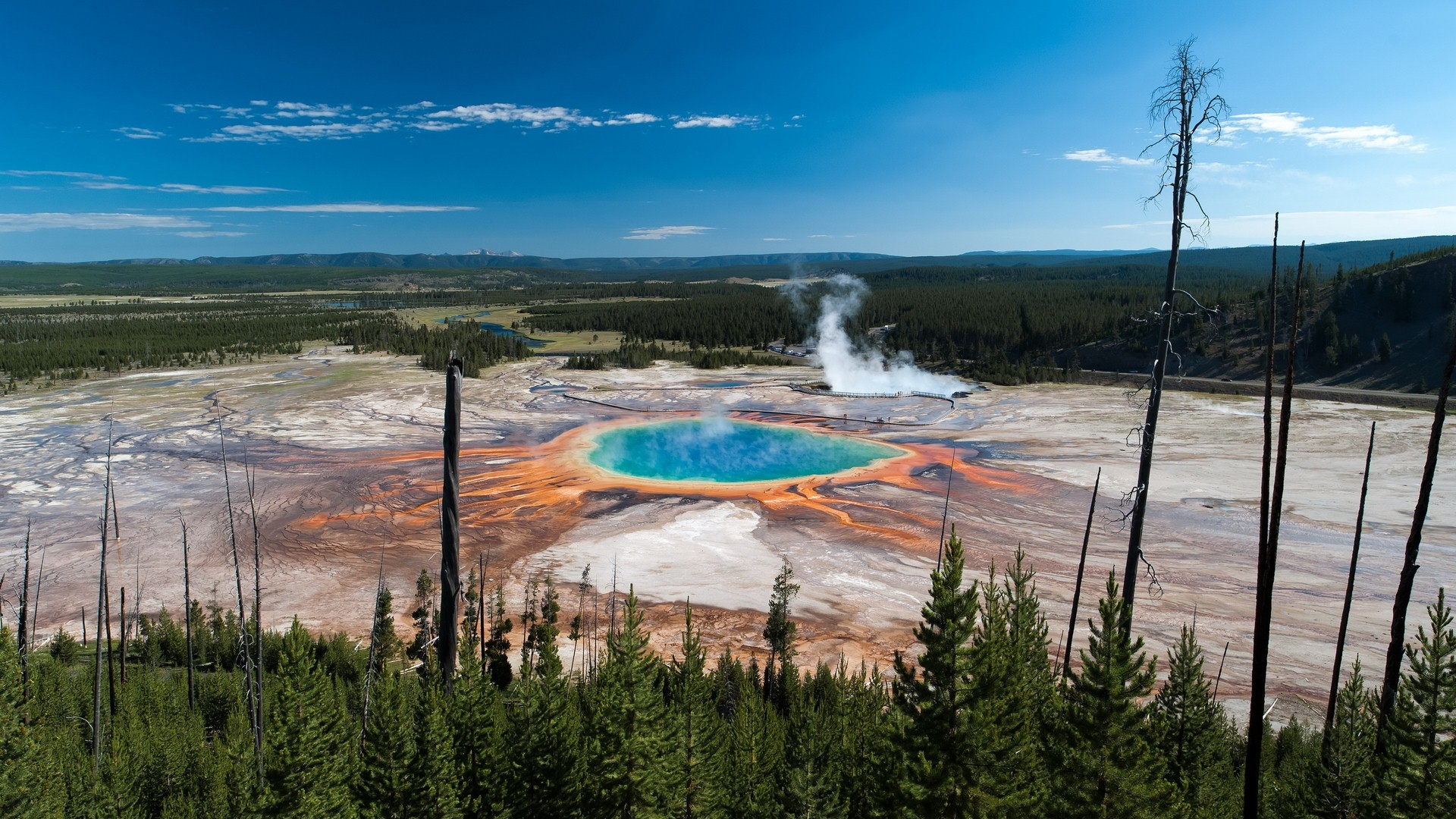 Yellowstone National Park in Country US HD Image Download HD Famous 1920x1080