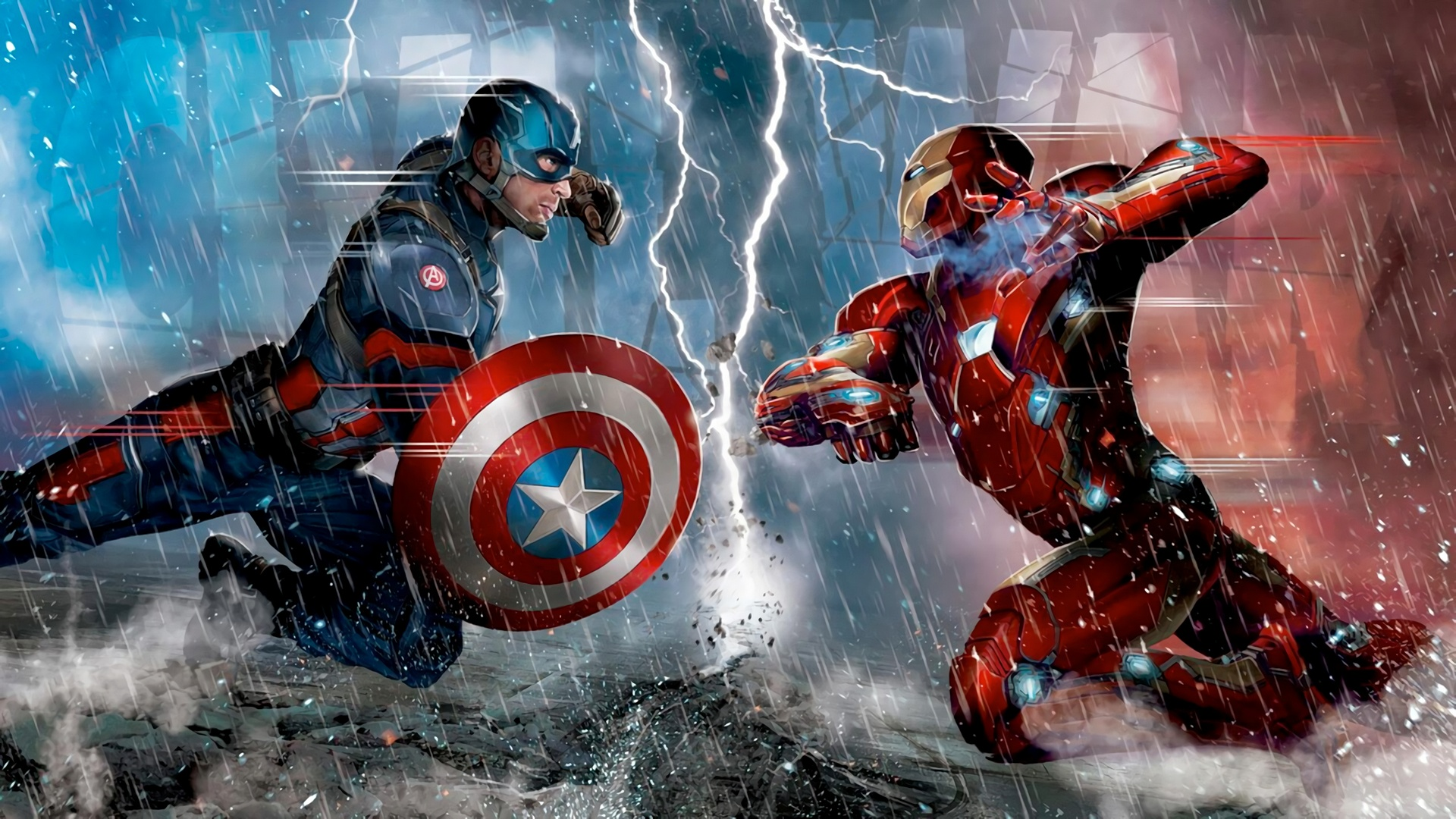 captain america vs iron man wallpaper 7 Ways On How To   Grad Katela 1920x1080