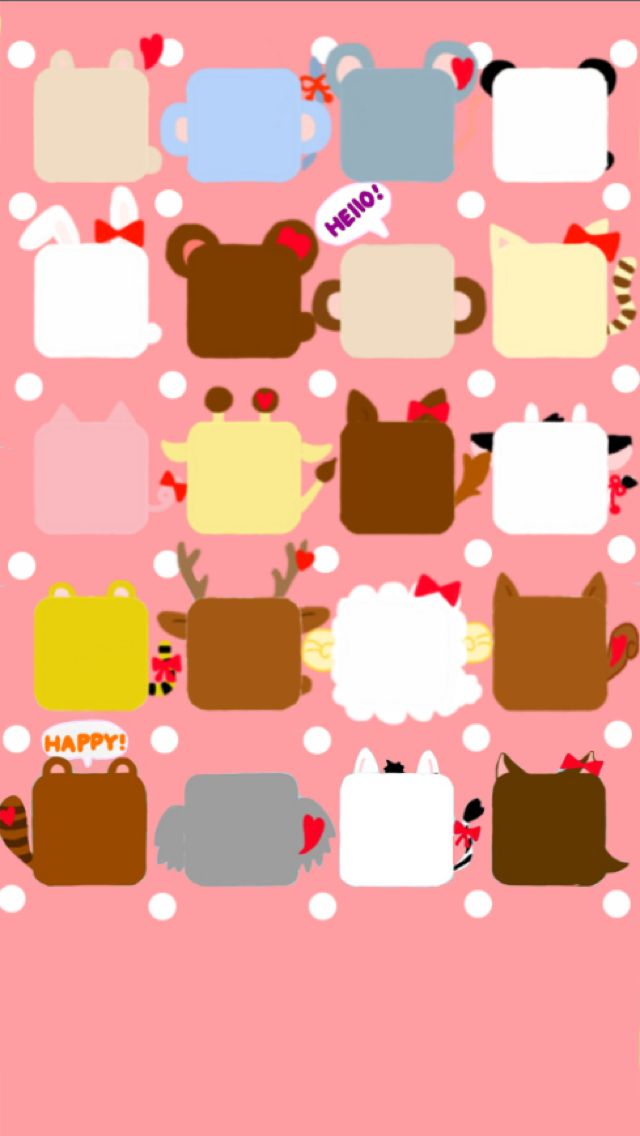 Cute animal wallpaper Iphone Wallpapers Iphone Backgrounds Cute 640x1136