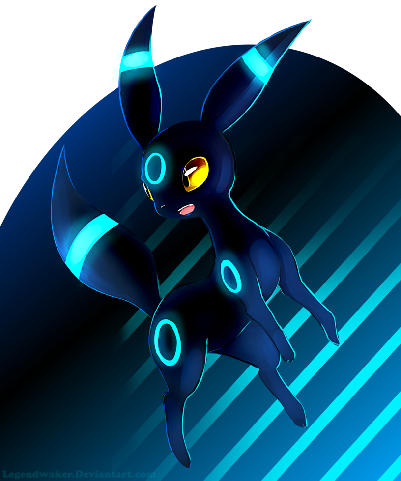 Shiny Umbreon by LegendWaker 816x979