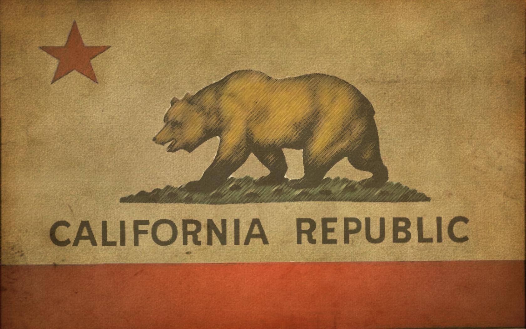 california bears us state flags of bear desktop 1680x1050 hd wallpaper 1680x1050