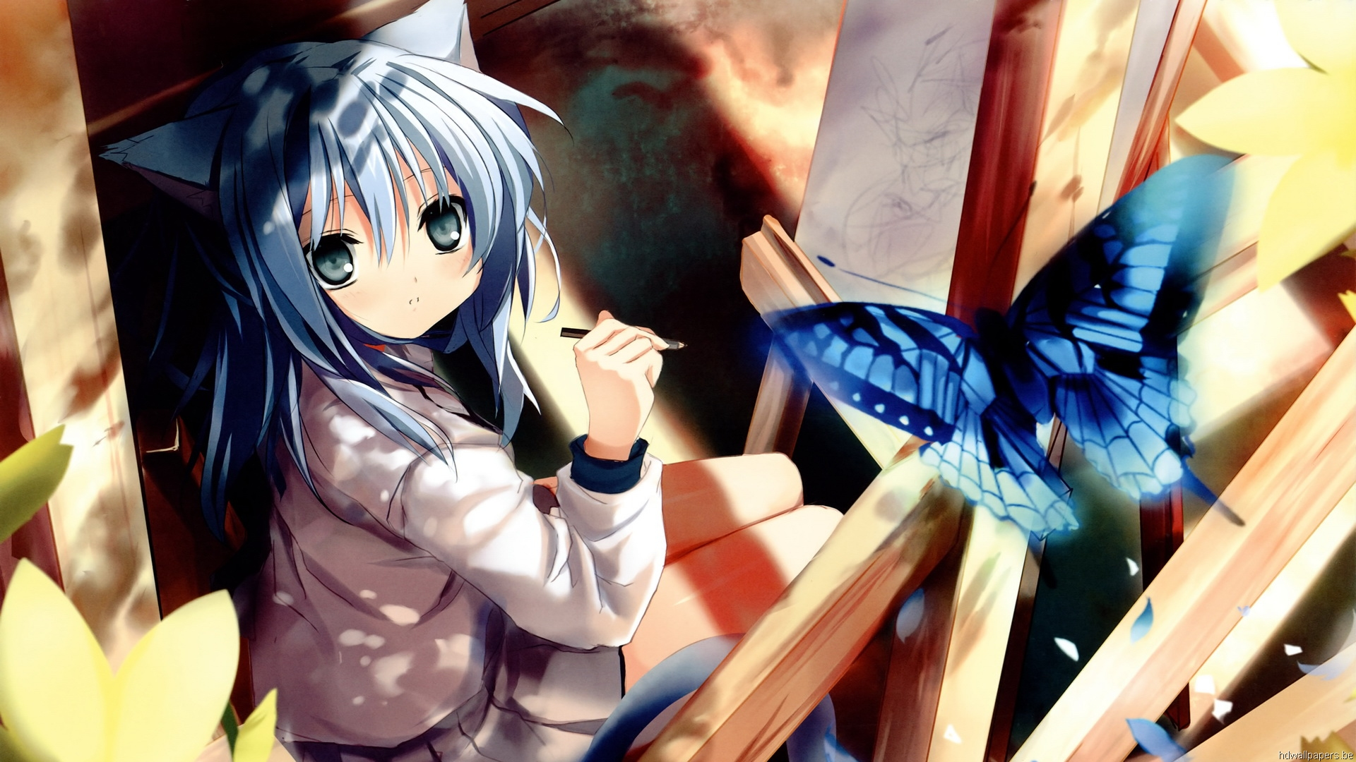 Download Cute Girl Anime From Zet Wallpaper 19201080 Full Hd 1920x1080